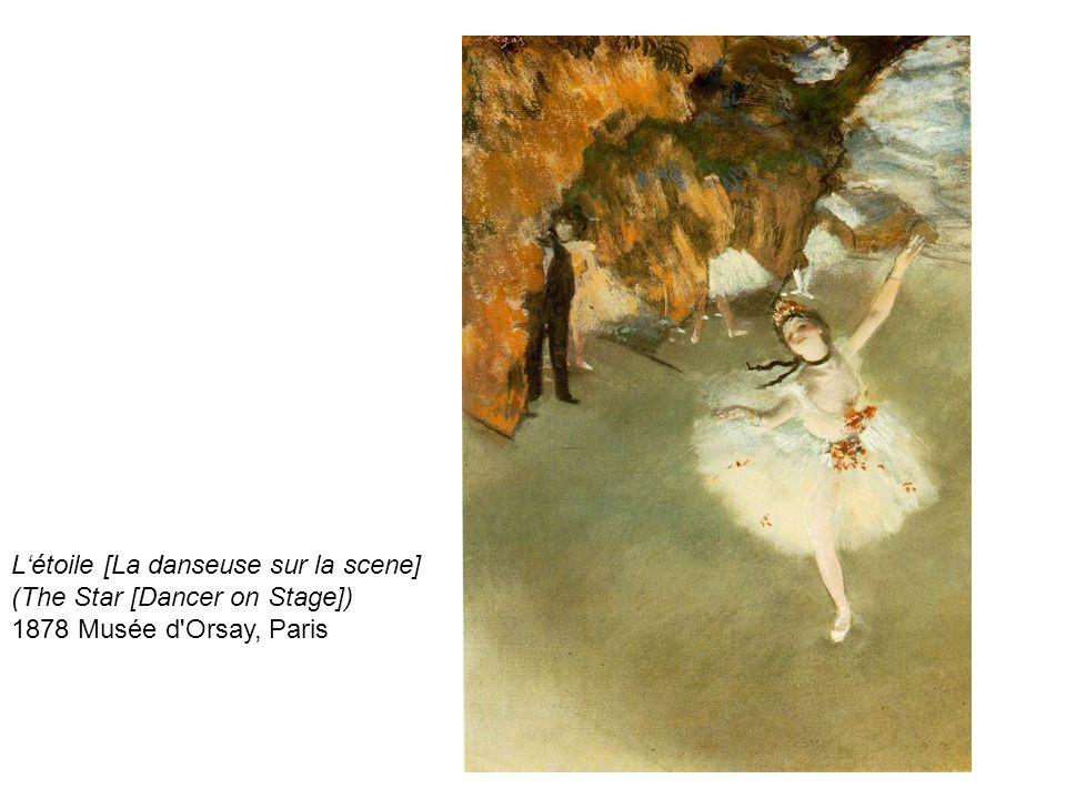 L'étoile [La danseuse sur la scene]